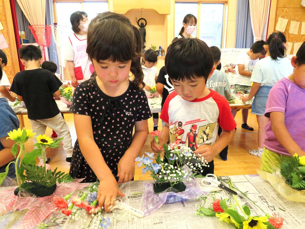 フラワーアレンジメント お花