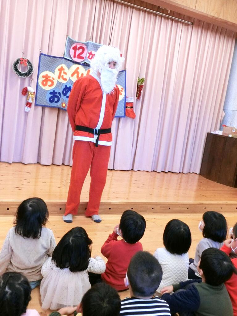 12月 クリスマス サンタ 年間行事